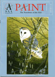 Barn Owl Paint Magazine